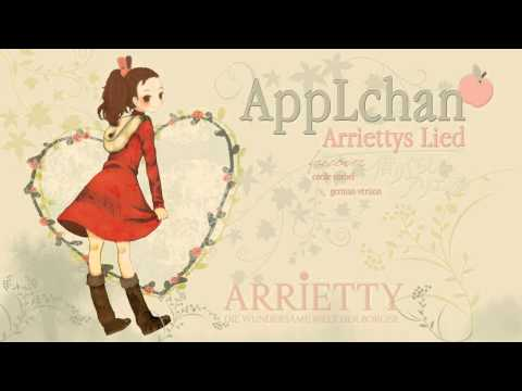 ♫ Arrietty's Song 「AppLchan Ѽ german Fancover」♪