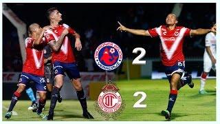 Veracruz vs Toluca - El Color 2-2