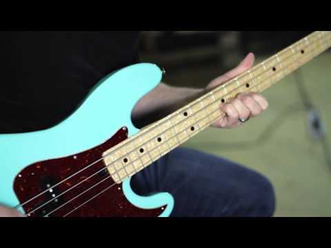 Walrus Audio Descent Reverb Bass Demo