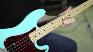 Walrus Audio Descent Reverb Bass Demo
