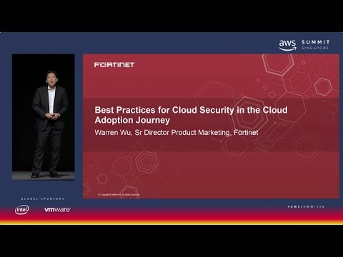 AWS Summit Singapore - Best Practices for Cloud Security in the Cloud Adoption Journey