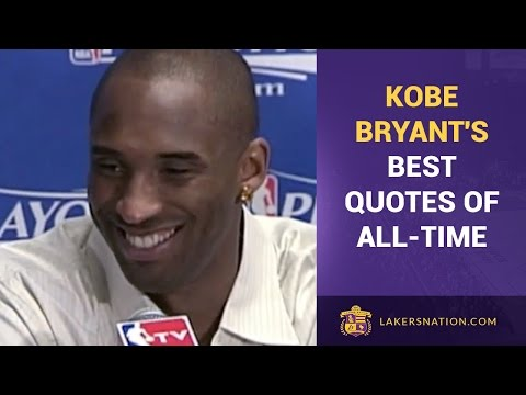Kobe Bryant's Best Quotes Of All-Time