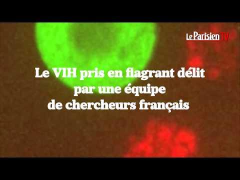 La transmission du VIH filmée pour la première fois
