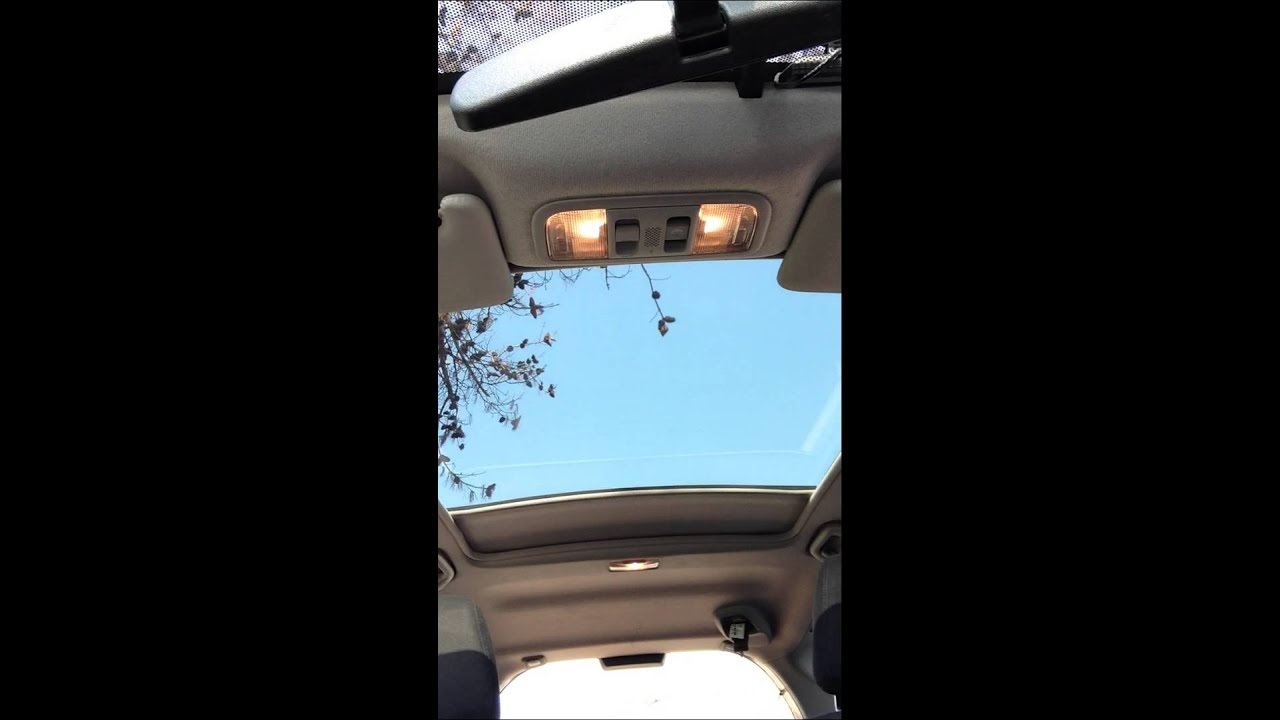 2010 Honda Jazz Panoramic Roof Open Amp Close Youtube
