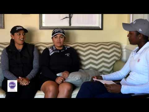 LPGA Lizette Salas & Lee Lopez Interview Part 1 for the 2nd Annual SoCal Girls Championship