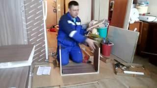 Сборка и установка кухни. Часть 1 - Сборка навесного шкафа.(Привет подписчики и гости моего канала. Я работаю сборщиком и установщиком мебели в одном из мебельных..., 2016-06-02T11:50:45.000Z)