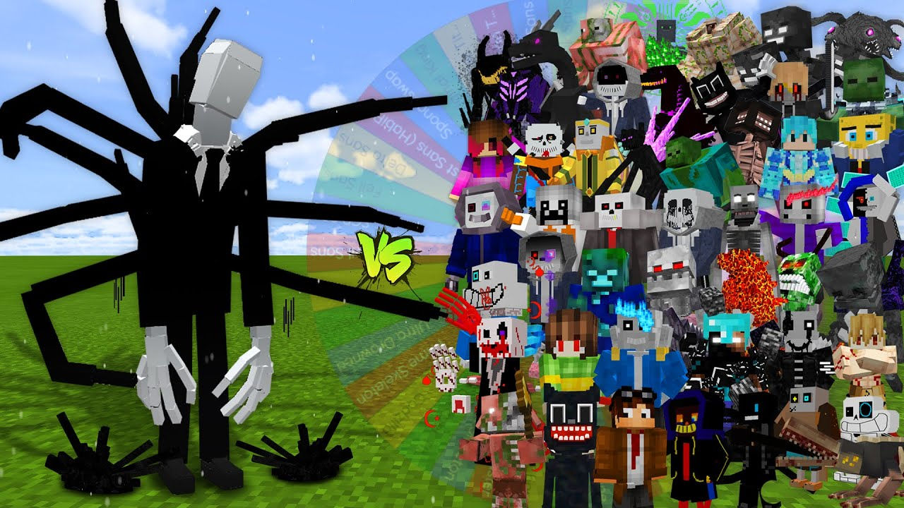 SLENDERMAN but my COMPUTER decides its OPPONENT...
