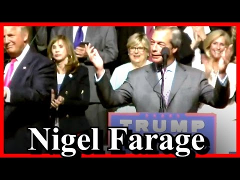 Nigel Farage Brexit Speaks at Donald Trump Rally Jackson Mississiippi Mr Brexit [ AMAZING SPEECH ]