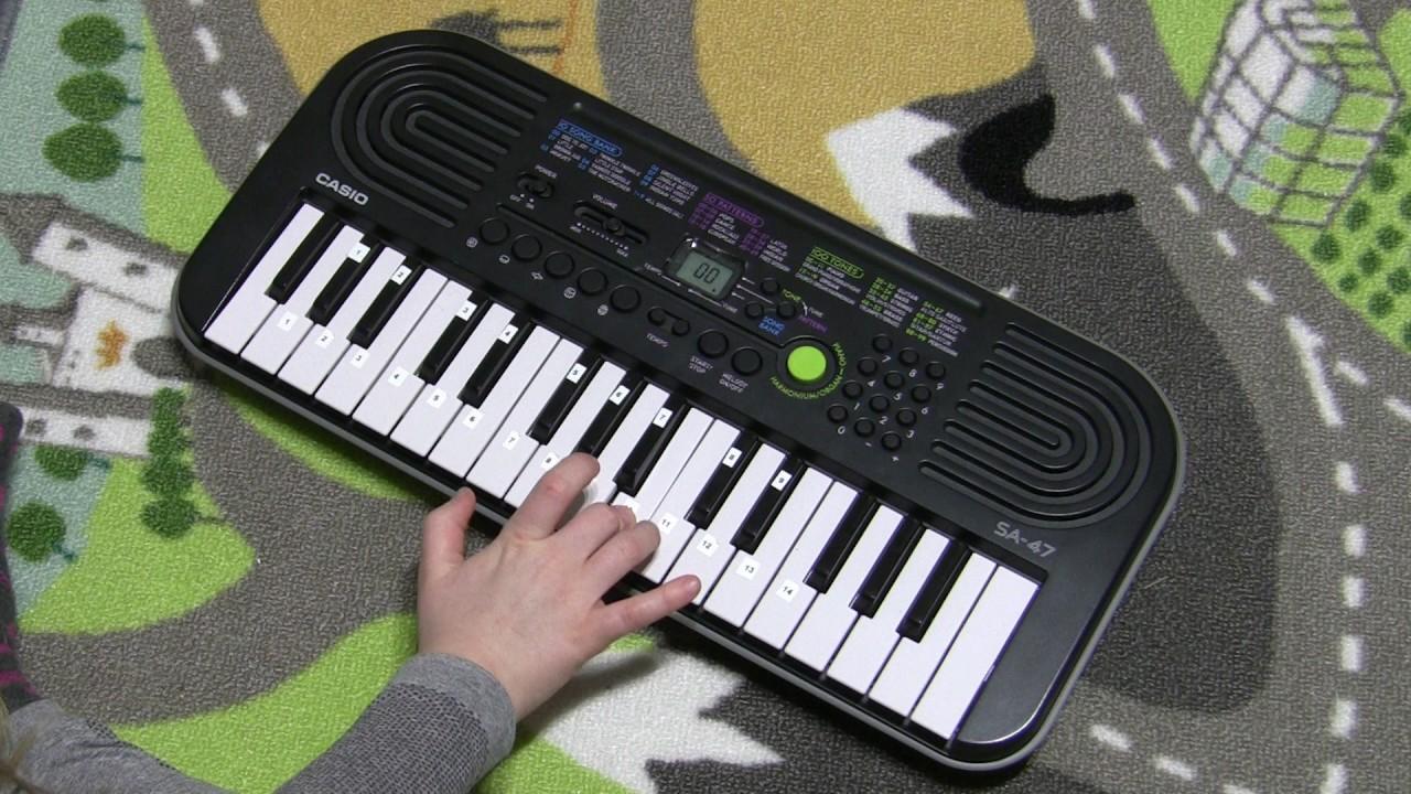 Casio Sa 1 Youtube Circuit Bent Sa75 Glitching 47 Ode To Joy Played Live