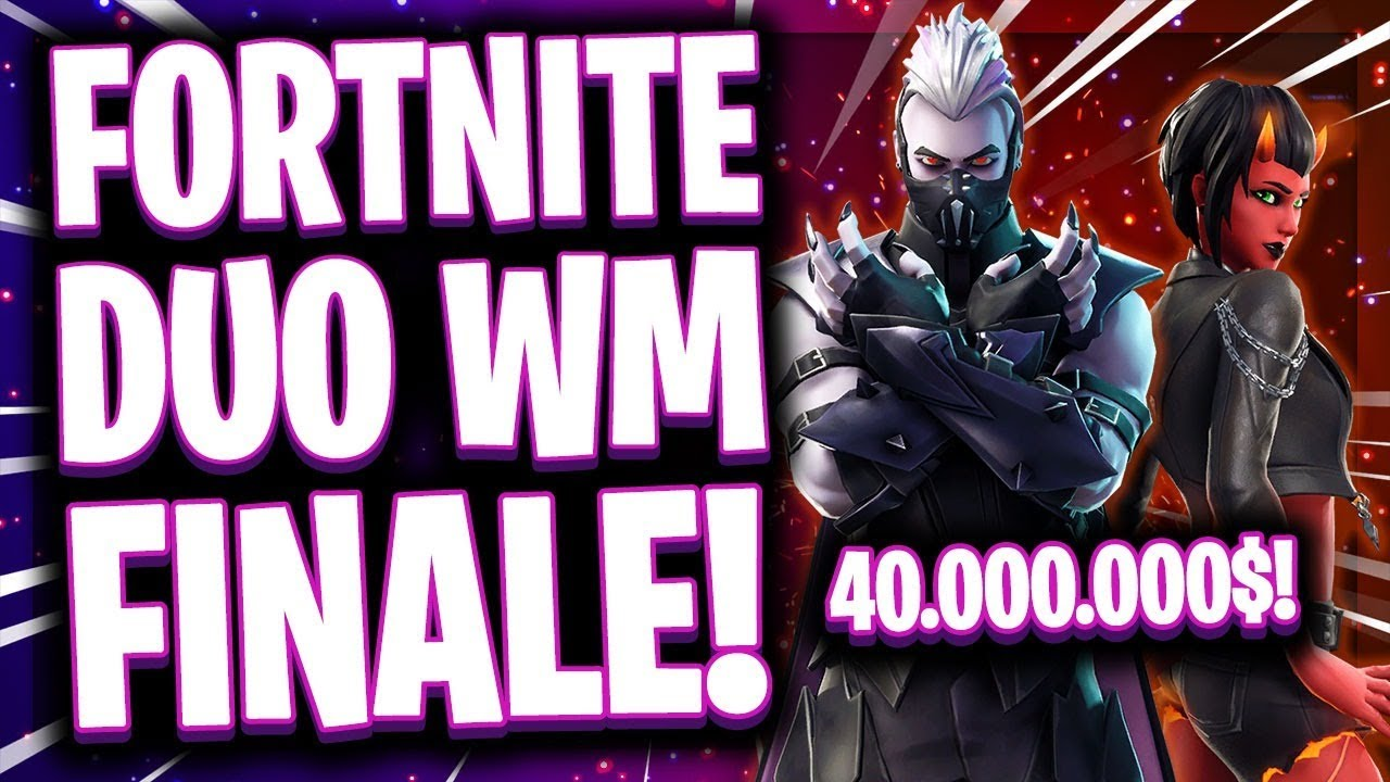 Fortnite Wm Finale