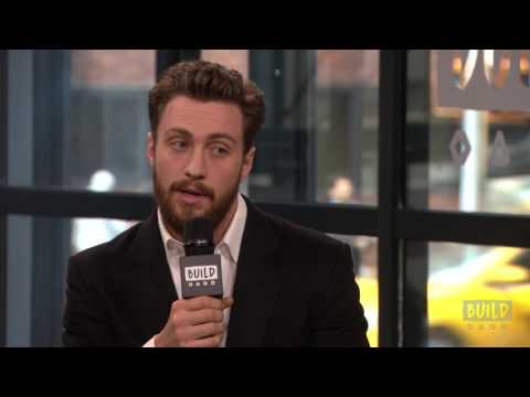 """Aaron Taylor Johnson Discusses The Research He Did For """"The Wall"""""""