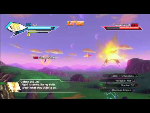 DB03 Dragonball Xenoverse, Rall going after the 5th time crystal