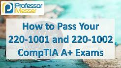 CompTIA 220-1001 A+ Training Course