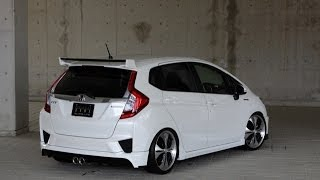 honda gp5 fit3 hybrid zeus exhaust sound エムズスピード ホンダ 新型フィット3 ハイブリッド マフラーサウンド