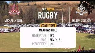 Schools Rugby - Michaelhouse vs Hilton College