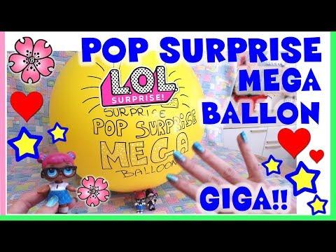 LOL SURPRISE POP SURPRISE MEGA BALLON più GIGA di SEMPRE By Lara e Babou