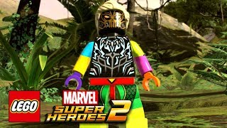 LEGO DC Super-Villains - Character Customiser And Story Details