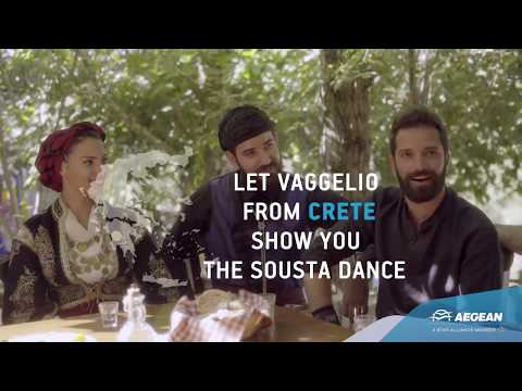 Aegean Airlines - Crete | Arrive Ready for its traditional dance
