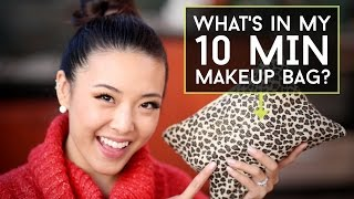 What's In My 10-min MAKEUP BAG? Thumbnail