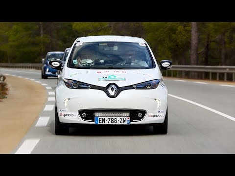 Renault Zoe at the Monte Carlo eRally