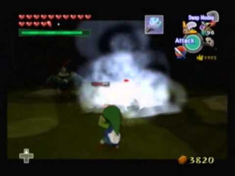 Let's Play Legend Of Zelda Wind Waker - 110 - The Dark Floors