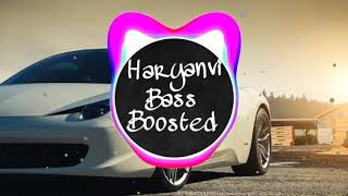 CHITTI KABOOTARI | Aman Raj | Bass Boosted | Haryanvi Song |
