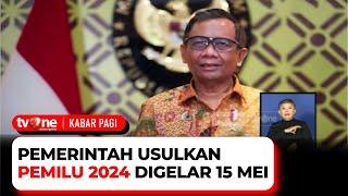 Pemilu Akan Dilaksanakan 2024, Ini Skemanya | Kabar Pagi tvOne