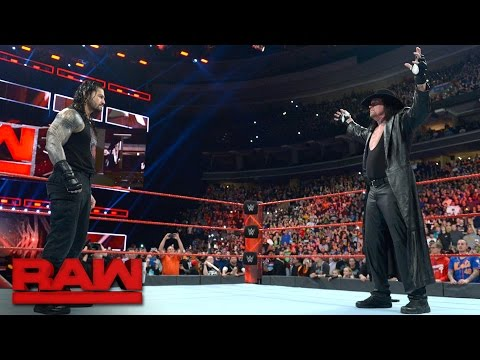 "Thumbnail: The Undertaker introduces Roman Reigns to his ""yard"": Raw, March 27, 2017"