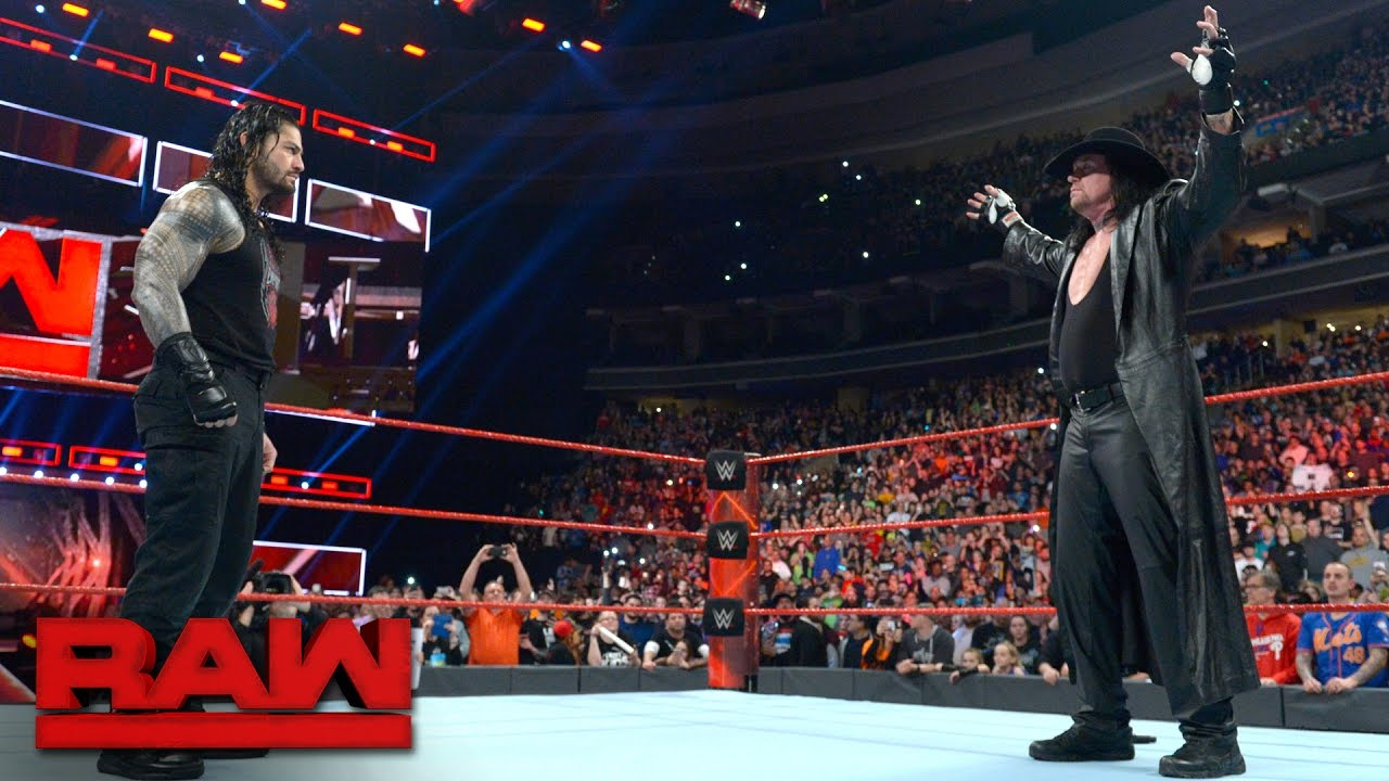 """Download The Undertaker introduces Roman Reigns to his """"yard"""": Raw, March 27, 2017"""