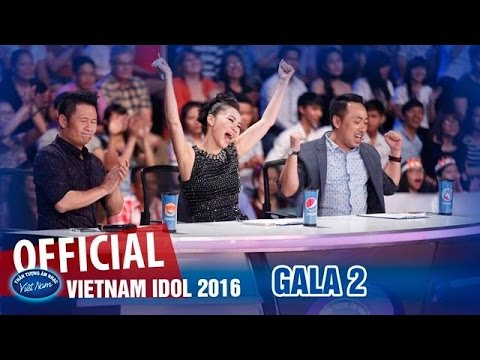 VIETNAM IDOL 2016 - GALA 2 - TOP HITS - FULL HD