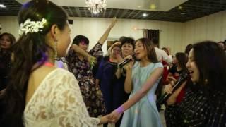 песня- сюрприз покорила  всех гостей на свадьбе Жулдыз и Батыржана