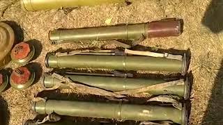 Прикордонники виявили арсенал вибухівки, вогнепальної зброї та боєприпасів