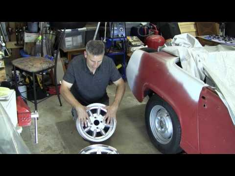 Wheels & Tires For Sprites & Midgets