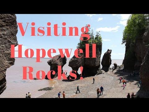 Visiting Hopewell Rocks - New Brunswick Canada