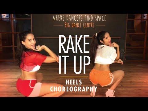Rake It Up | Yo Gotti ft. Nicki Minaj | Heels Choreography | LiveToDance with Sonali ft. Nora Fatehi