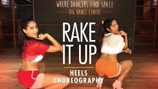 Rake It Up | Yo Gotti ft. Nicki Minaj | Heels Choreography | LiveToDance with Sonali ft. Nora Fatehi
