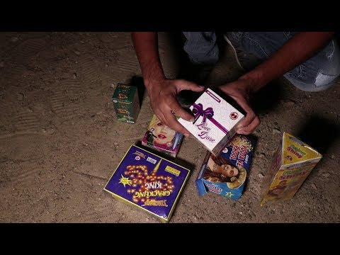Testing Different Types Of Firecrackers - Diwali Stash 2019