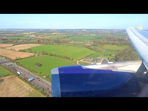 Monarch A300 FINAL FLIGHT G-OJMR Landing at Birmingham Airport [1080p HD]