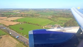 Monarch A300 FINAL FLIGHT G-OJMR Landing at Birmingham Airport [1080p HD]