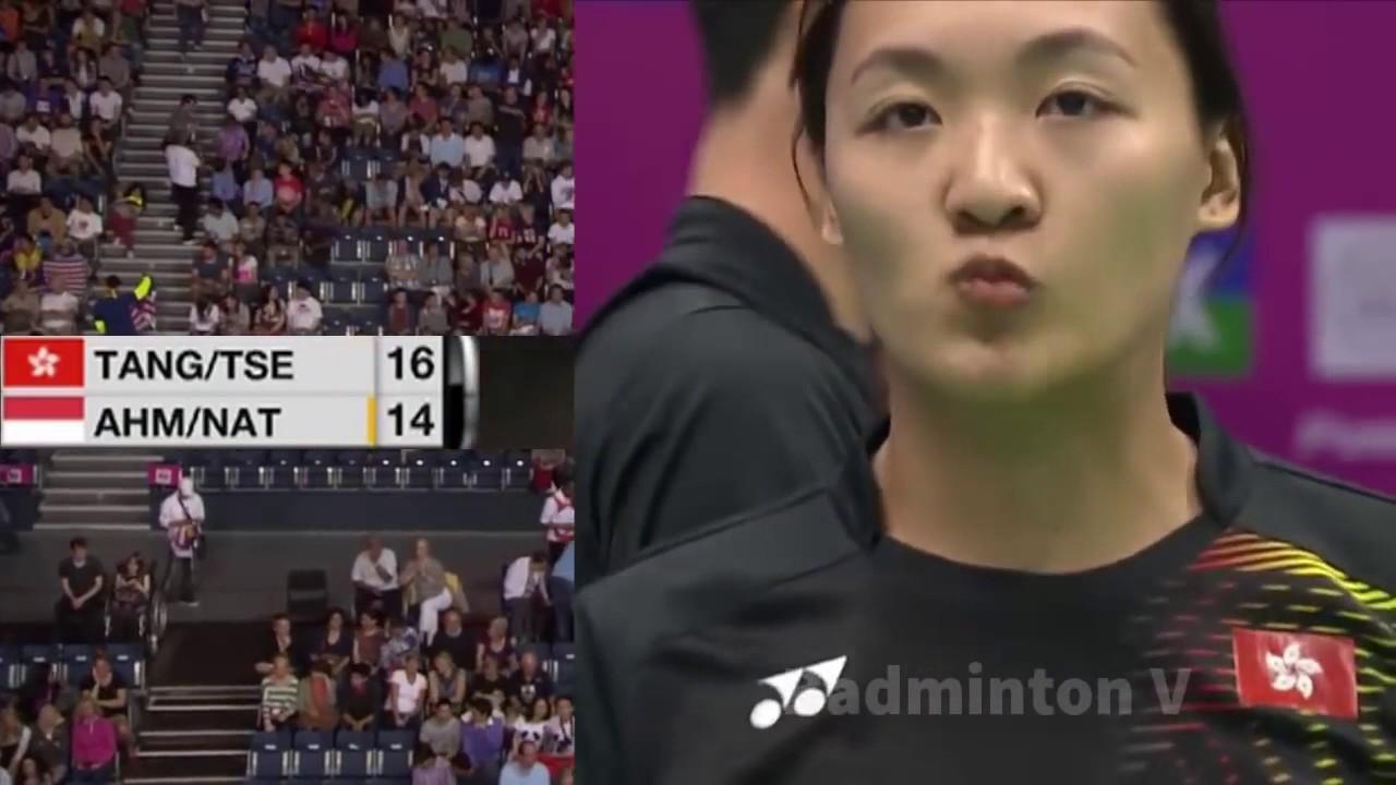 Badminton HongKong 2016 Tontowi AHMAD Liliyana NATSIR vs TANG Chun