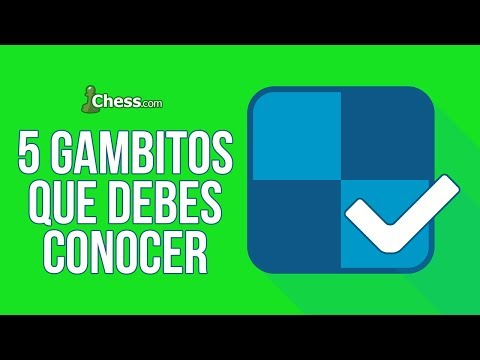 Los 5 Gambitos de Ajedrez que debes conocer