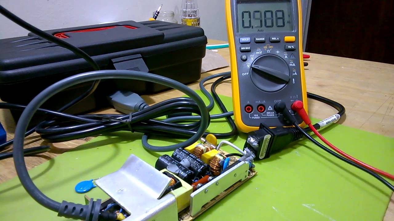 XBOX power supply repair attempt: part #1 on