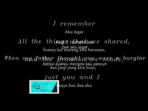 Lirik Lagu dan Terjemahan I Remember - Mocca