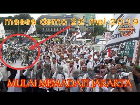 Detik-detik!!! AKSI DEMO 22 MEI 2019 MULAI MEMADATI JAKARTA. | Wonderdir Pilpres