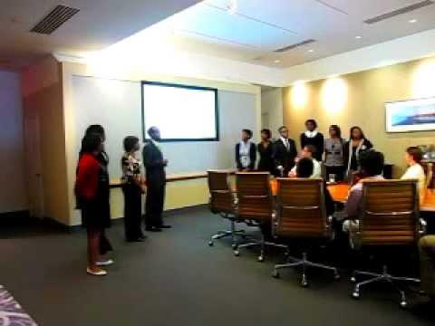 2011 MRSI Students - Final Presentation - Material Resource Sustainability Internship Participants