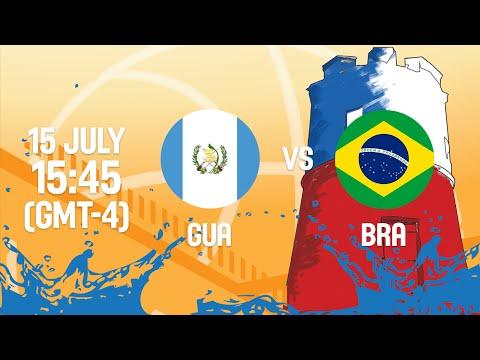 Guatemala v Brazil - Full Game - Group A - 2016 FIBA Americas U18 Women's Championship