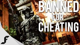BANNED FOR CHEATING - Battlefield 4 Multiplayer Gameplay