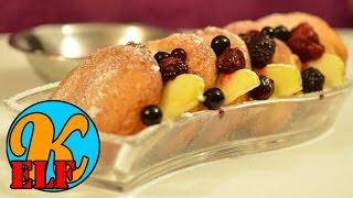 Apple Pancakes | Apfel Pfannkuchen | Schnell Und Einfach Selber Machen | Kanal-elf | Rezept #70