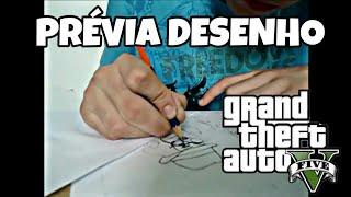 Prévia ... Desenho GTA.