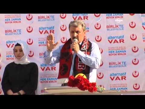 Destici: Başbakan da olsanız Türkçe Olimpiyatları'nı engelleyemezsiniz